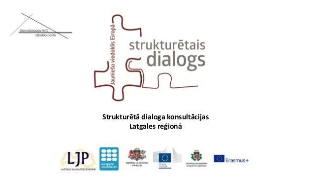 Strukturētā dialoga konsultācijas Latgales reģionā