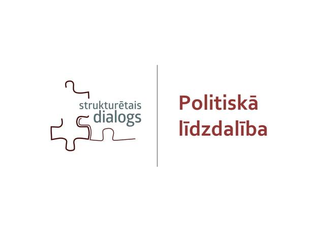Politiskās līdzdalības veidi Vēlēšanas Politiskās partijas Biedrības Protesti, Demonstrācijas, Mītiņi Petīcijas Viedokļa p...