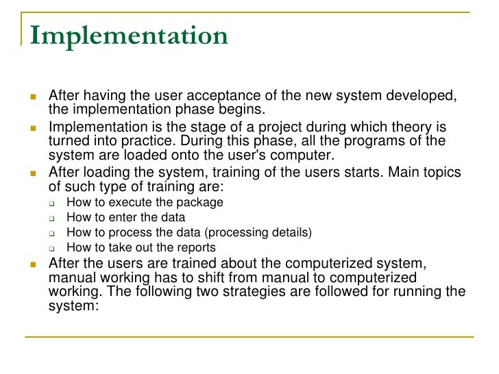 system design and implementation 2014-11-24 49 summary and design principles taxonomy  the design and implementation of modern column-oriented  introduction database system performance is directly related to the eciency of the system at storing.