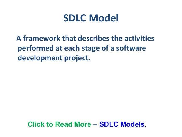 SDLC Models Slide 2