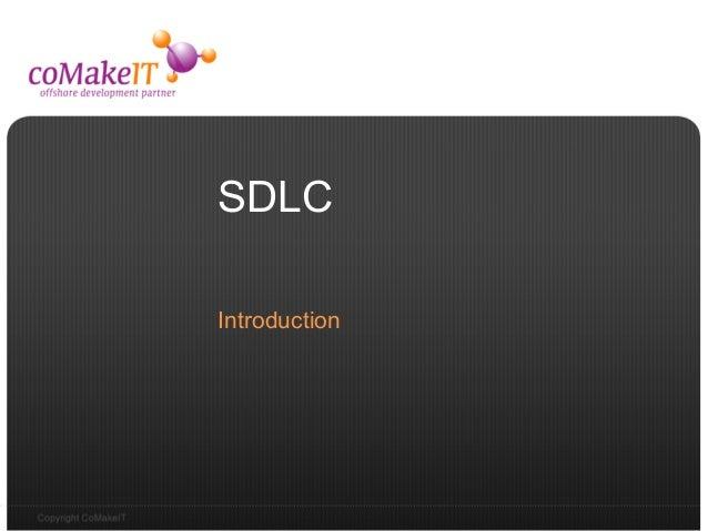 SDLCIntroduction
