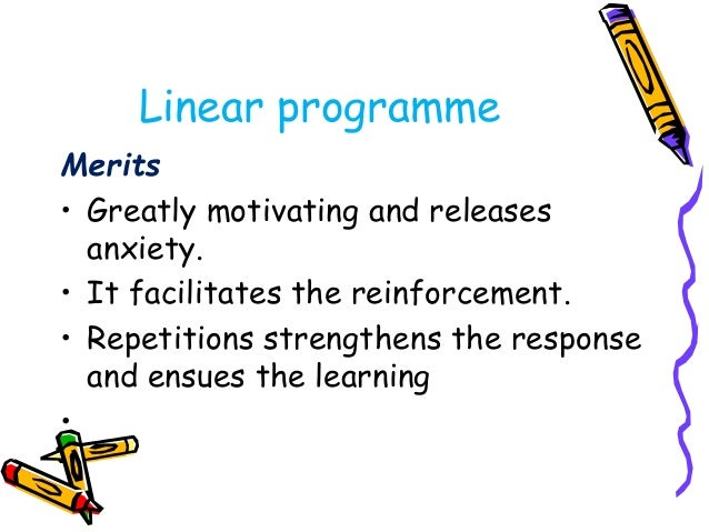 Techniques in branch  programme  Backward branching  • The learner goes from first frame to second frame  only if he makes...