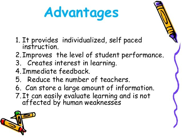 E- learning  • One form of distance learning, a type of  educational situation in which the instructor  and students are s...