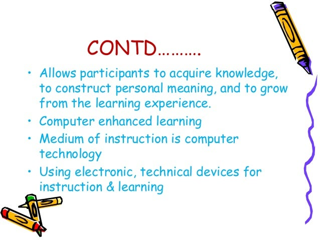 CONTD…………….  • VIRTUAL REALITY - (VR) is a  technology which allows a user to  interact with a computer-simulated  environ...
