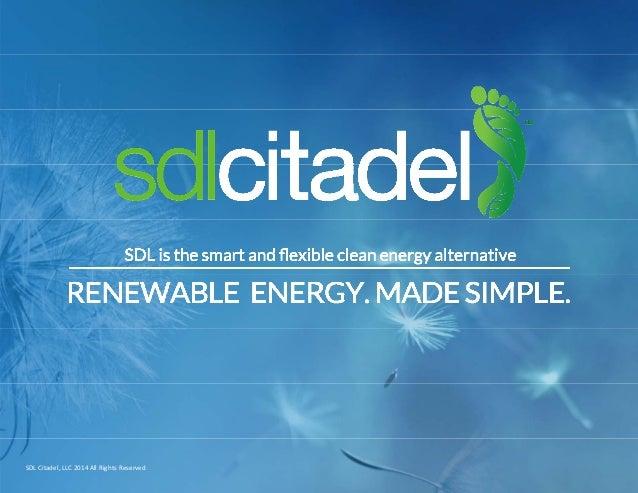 SDLCitadel,LLC2014AllRightsReserved