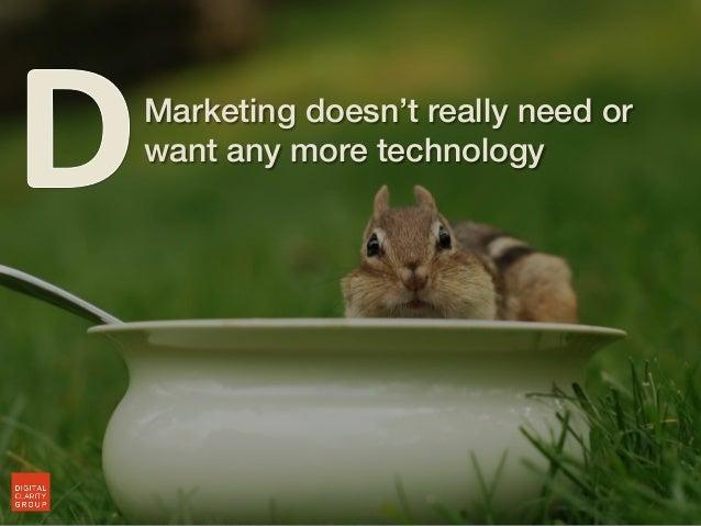 We Forgot Marketing.....