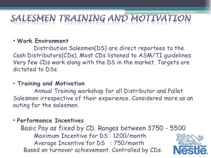 Nestle Sales & Distribution
