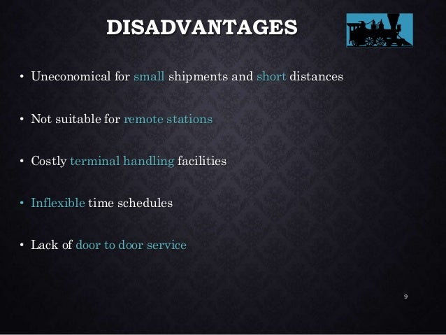 ROAD FREIGHT ADVANTAGES • Through movement – direct from consignor to consignee, no transshipment • Flexibility – routes a...