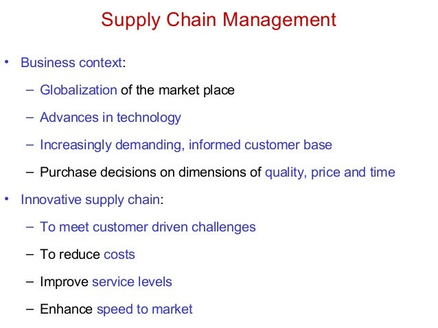 supply chain management and unexpected market Companies are battling for growth and supply chain visibility can  for the same market share your supply chain  about an unexpected supply chain.