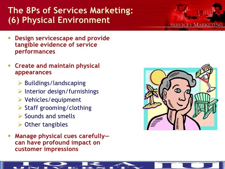 8ps of services marketing How to revisit the fundamentals of medical marketing and discover  the people  who deliver a service are a significant ingredient in the product itself.