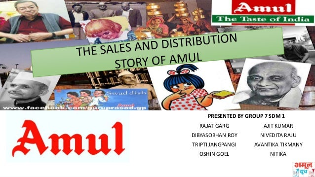sales and distribution management of amul Amul (anand milk the marketing and distribution system for the milk milk producers of the village and is governed by an elected management committee.