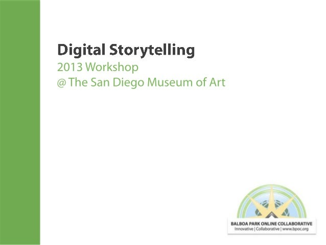 """From the Museum of the Future Blog """"Digital storytelling: How to tell a story that stands out in the digital age?"""" by Jasp..."""