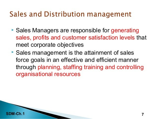 ... Distribution Management Are Both Components Of The Marketing Mix; 7.