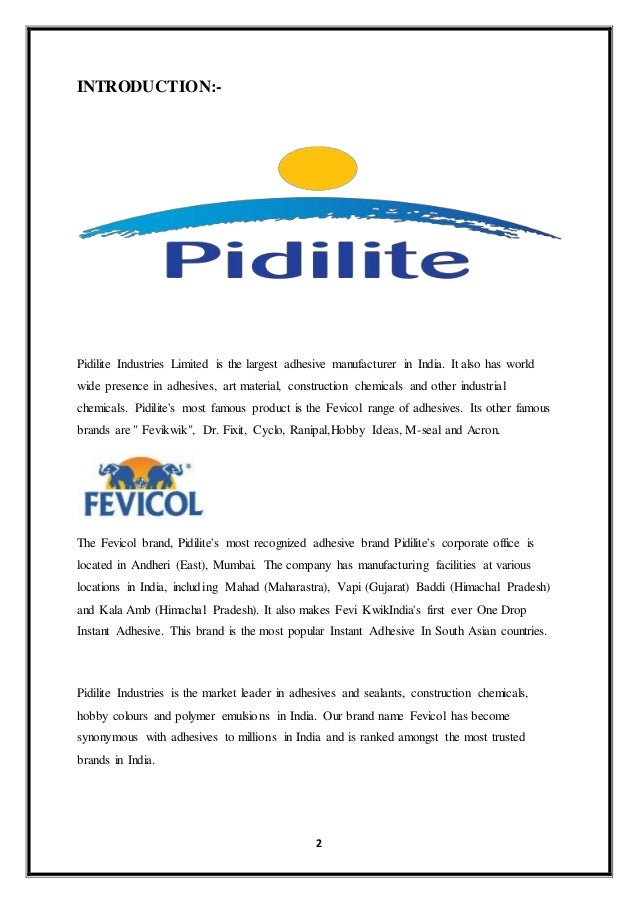 Pidilite Industry