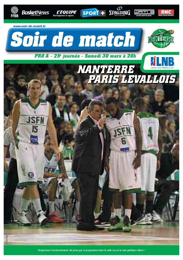 www.wati-b.com                 www.soir-de-match.fr                              PRO A - 25e journée - Samedi 30 mars à 20...