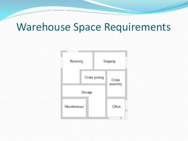 Warehousing decisions ppt video online download, small warehouse.