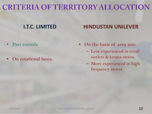 I.T.C. LIMITED                          HINDUSTAN UNILEVER• Past records                                  • On the basis o...