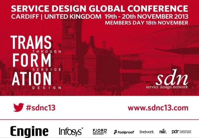 Commercialising Design Led Innovation RCA Service Design  Module 2