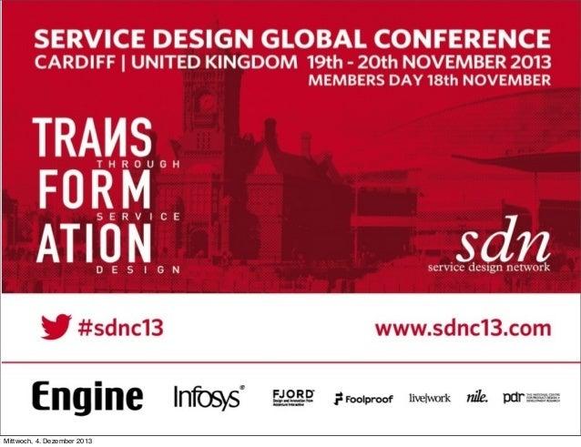PRESENTATION  Business impact SDN Cardiff 2013