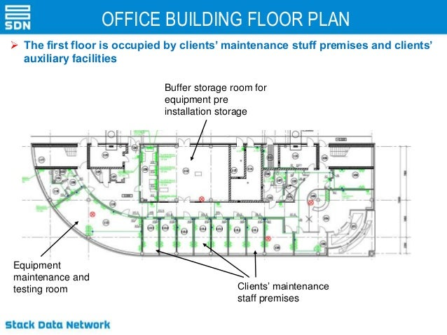 Office Floor Plan App: Data-center SDN