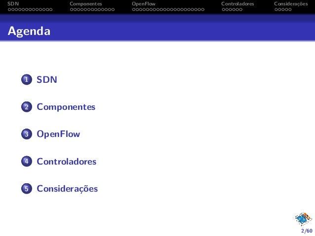 Redes Definidas por Software (SDN) e OpenFlow Slide 2