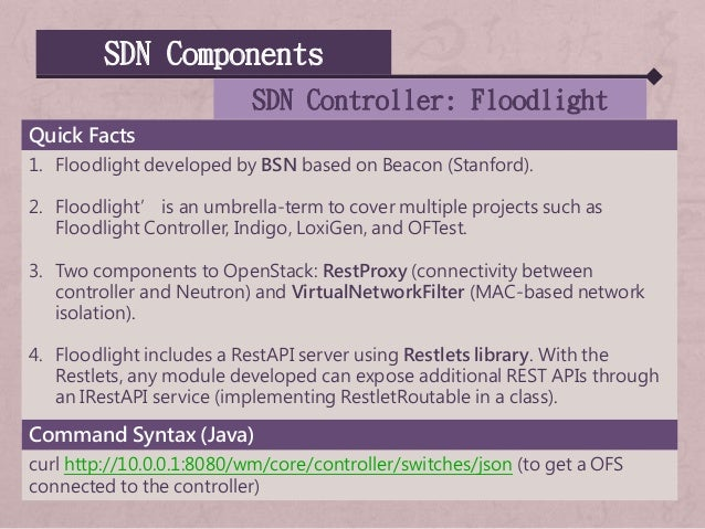 SDN, OpenFlow, NFV, and Virtual Network