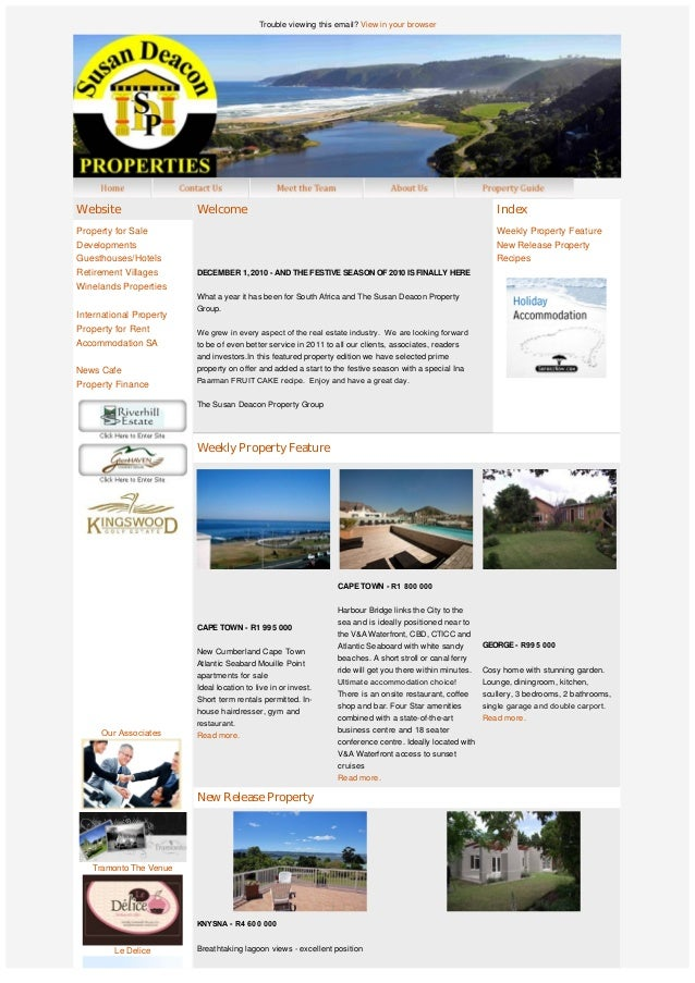 Trouble viewing this email? View in your browser               OurAssociates  Tramonto The Venue Le Delic...