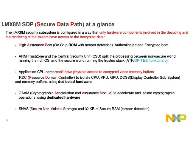 HKG18-113- Secure Data Path work with i MX8M