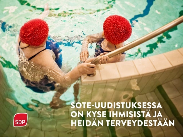 SDP ja sote-uudistus marraskuu 2015 SDP:n eduskuntaryhmän puheenjohtaja Antti Lindtman 18.11.2015