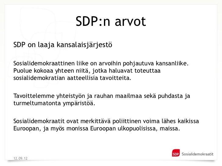 Sdp Arvot