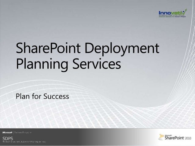 """Program Overview """"We heard a number of stories of people deploying SharePoint themselves and then having to call in a Micr..."""