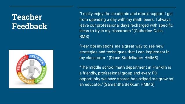 K-12 Math Program Update for Franklin (MA) School Committee