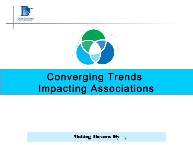 Making Dreams Fly ® Converging Trends Impacting Associations