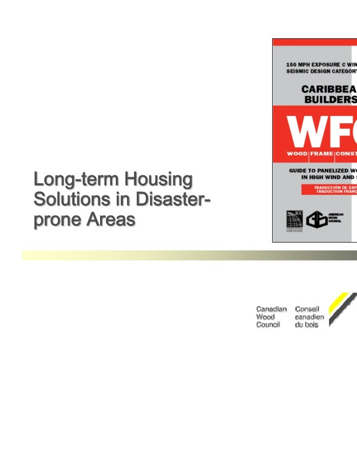 Long-term HousingSolutions in Disaster-prone Areas