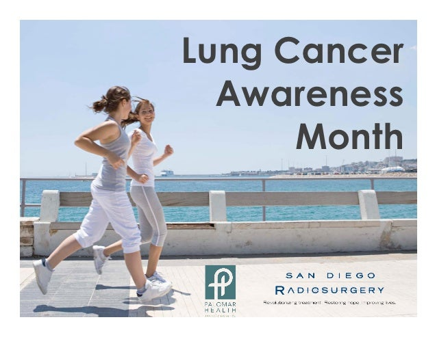 Lung Cancer  Awareness      Month