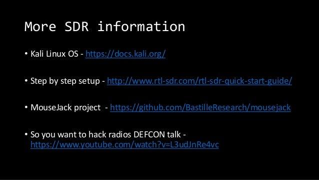 Software-Defined Radio Presentation