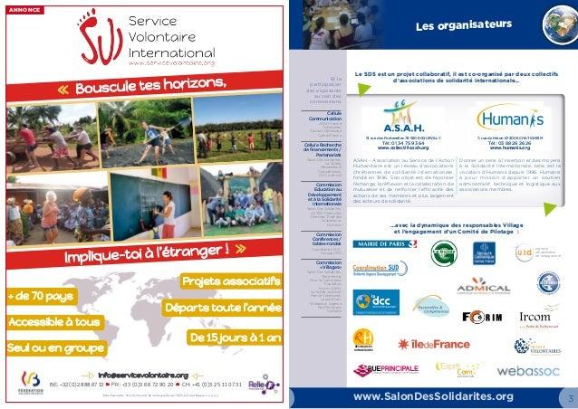 Salon Des Solidarités 2014 Guide Visiteur Slide 2