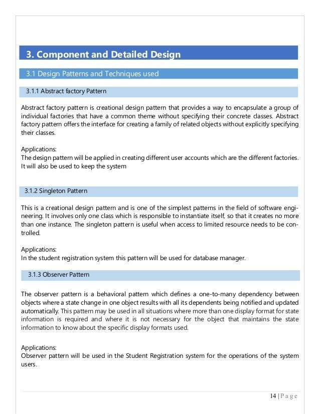 Sds Document Kimoterrainsco - What is a design document