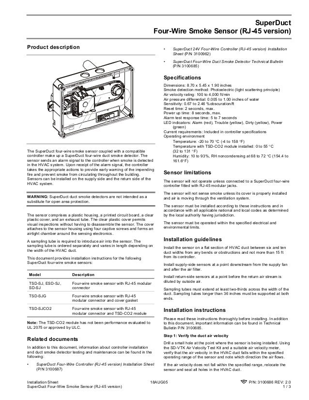 Edwards Signaling Sdsj Installation Manual
