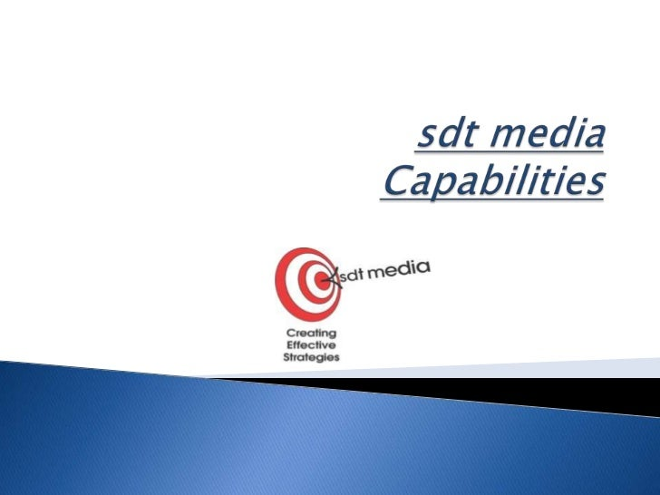 sdt mediaCapabilities<br />
