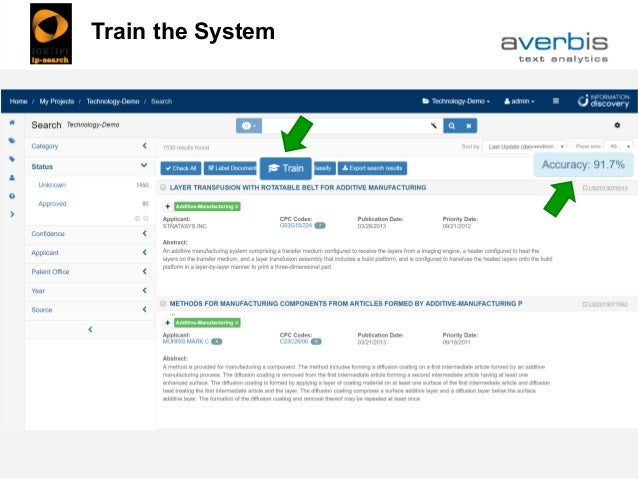 Train the System