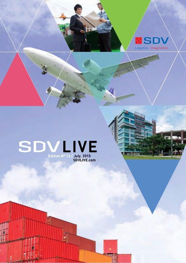 1 Edition N° 13 / July, 2015 SDVLIVE.com