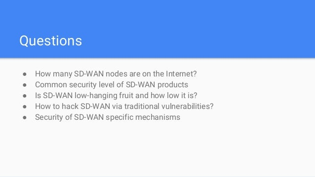 WebGoat SDWAN Net in Depth: SD-WAN Security Assessment