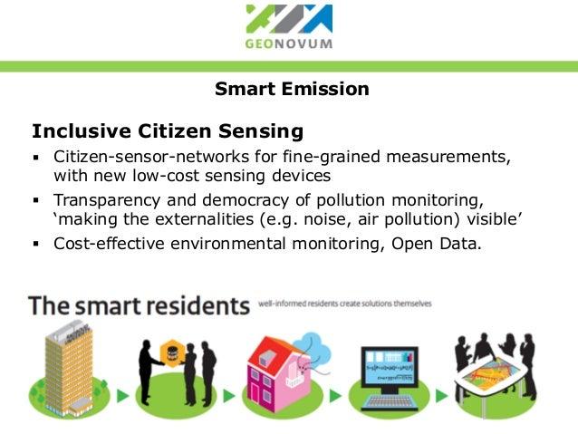 Smart Emission - Citizens measuring Air Quality - Overview Slide 2