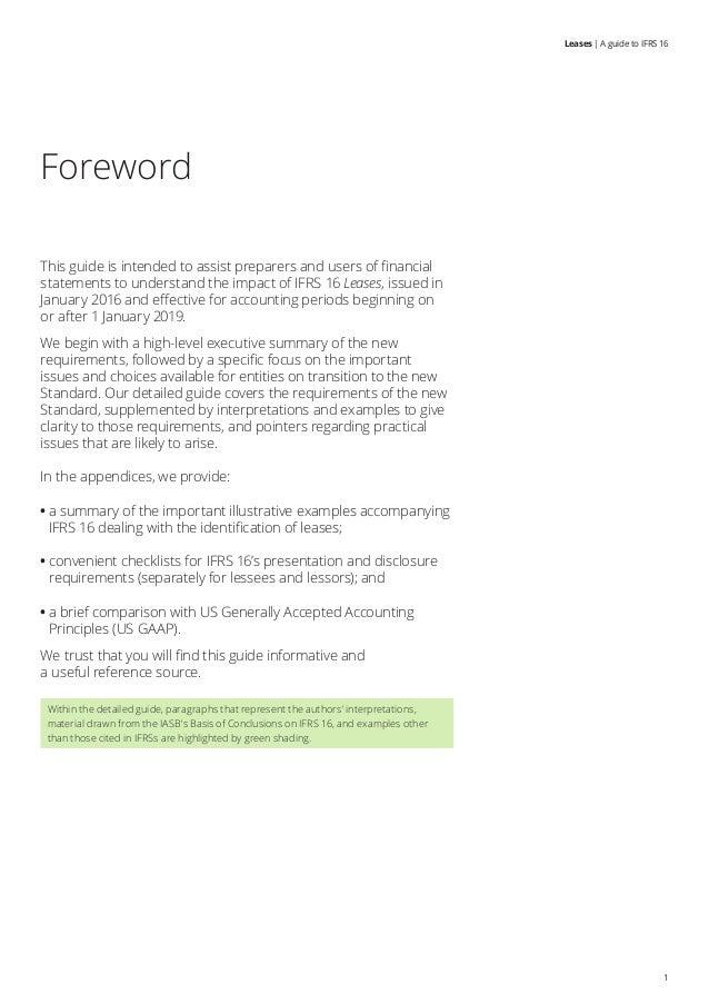 Sea audit- IFRS 16 guide by Deloitte