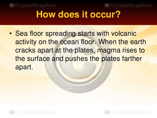 Seafloor Spreading Helps Explain Continental Drift In The Theory Of Plate  Tectonics; 5.