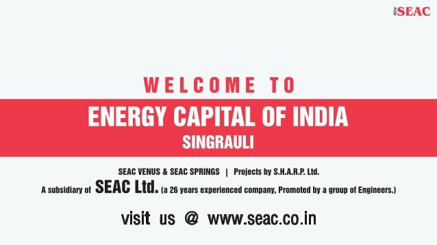 Seac singrauli  proposal