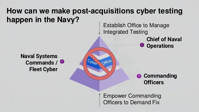 """""""To many commanders, a cyber threat is not as real as a missile attack."""" - National Security Council Member, Naval Officer"""