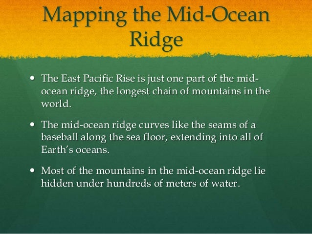The gallery for east pacific rise on world map for 10 facts about sea floor spreading