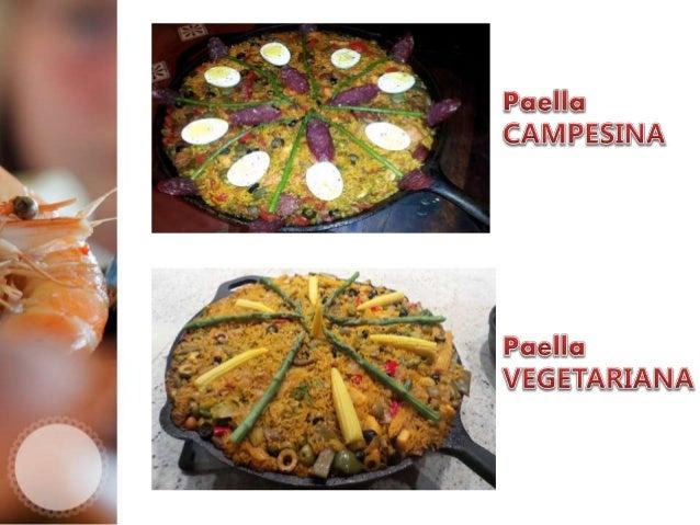 Salad's Prepared By Paella Chef